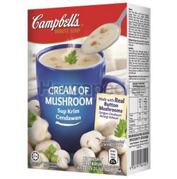 Campbell's Instant Soup Cream of Mushroom 3x21.1gm