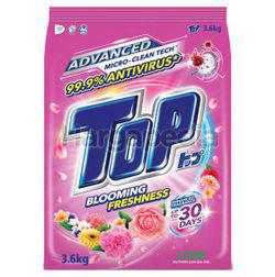 Top Detergent Powder Blooming Freshness 3.6kg
