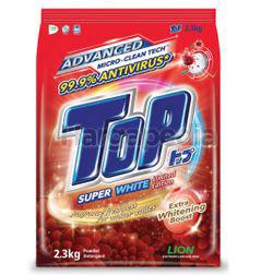 Top Detergent Powder Super White 2.3kg