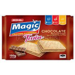 Jack N Jill Magic Twin Cracker Sandwich Chocolate 10x15gm