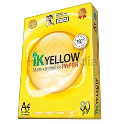 IK Yellow A4 Paper 80gm 450s