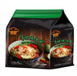 Red Chef Green Tom Yum Goong Noodle 4x100gm