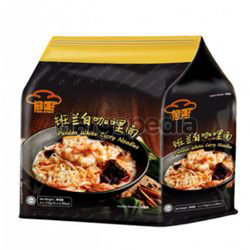 Red Chef Pandan White Curry Noodle 4x115gm