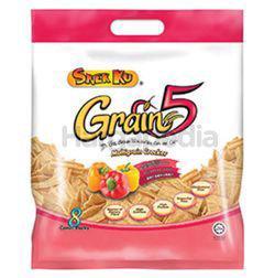 Snek Ku Grain 5 Snacks Spicy Paprika 8x16gm