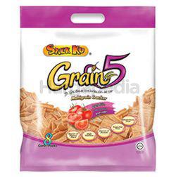 Snek Ku Grain 5 Snacks Tomato 8x16gm