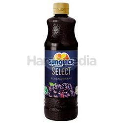 Sunquick Concentrated Cordial Select Blackcurrant 700ml