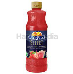 Sunquick Concentrated Cordial Pink Guava & Strawberry 700ml