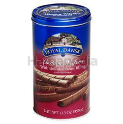 Royal Dansk Luxury Wafers Chocolate 350gm