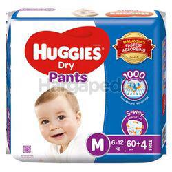 Huggies Dry Pants M60+4