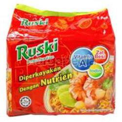Ruski Instant Noodle Tom Yam 5x80gm