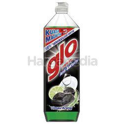 Glo Dishwash Liquid Lime Charcoal 900ml