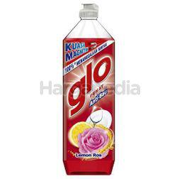 Glo Dishwash Liquid Lemon Rose 900ml