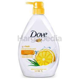 Dove Cream Shower Go Fresh Energize 1lit