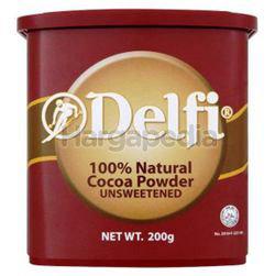 Delfi Unsweetened Cocoa Powder 200gm