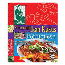 Mak Nyonya Instant Portuguese Style Steamed Fish Sauce 200gm