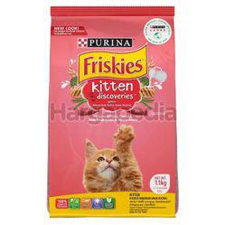 Friskies Dry Cat Kitten Discoveries 1.1kg