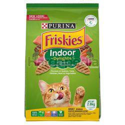 Friskies Dry Cat Indoor Delights 2.8kg