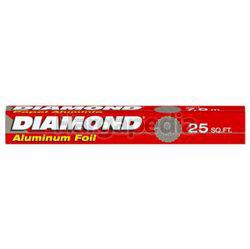 Diamond Aluminium Foil 25sqft 1s