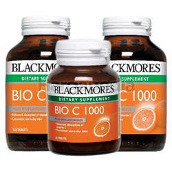 Blackmores Bio C 1000mg 2x120s + 30s