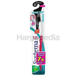 Systema Super Thin Charcoal Toothbrush 1s