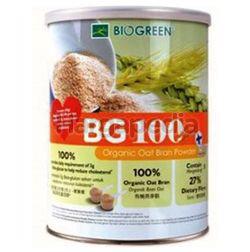 Biogreen BG100 Organic Oat Bran Powder 500gm