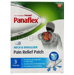 Panaflex Pain Relief Neck & Shoulder Patch 3s