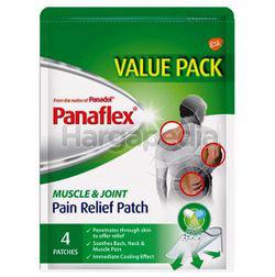 Panaflex Pain Relief Muscle & Joint Patch 4s