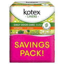 Kotex Fresh Daily Odor Care Pantyliner Ultra Thin Daun Sirih 2x40s