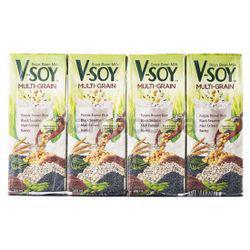 V-Soy Multi Grain Soya Bean 4x200ml