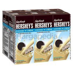 Soyfresh Hershey's Soya Milk Cookies & Cream 6x200ml