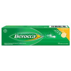 Berocca Effervescent Tablet Mango 15s
