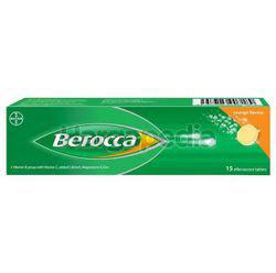 Berocca Effervescent Tablet Orange 15s