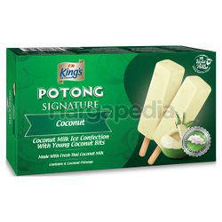 King's Signature Potong Ice Cream Coconut 6x60ml