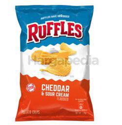 Ruffles Potato Chips Cheddar & Sour Cream 184gm