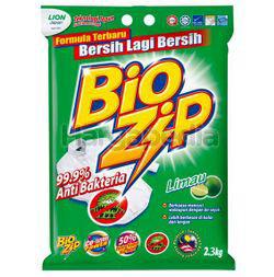 Bio Zip Detergent Powder Lime 2.3kg