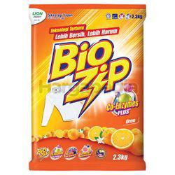 Bio Zip Detergent Powder Orange 2.3kg