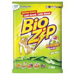 Bio Zip Detergent Powder Aloe Vera 2.3kg