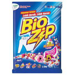 Bio Zip Detergent Powder Floral 2.3kg