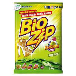 Bio Zip Detergent Powder Aloe Vera 3.8kg