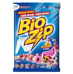 Bio Zip Detergent Powder Floral 3.8kg
