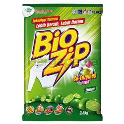 Bio Zip Detergent Powder Lime 3.8kg