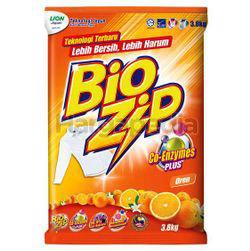 Bio Zip Detergent Powder Orange 3.8kg