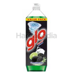 Glo Dishwash Liquid Charcoal Lime 1.35lit
