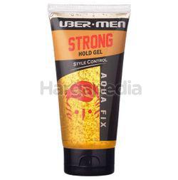 Uber Men Aqua Fix Hair Gel Strong Hold 150ml