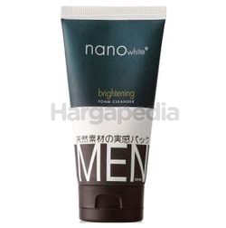 Nano White Men Brightening Foam Cleanser 150ml