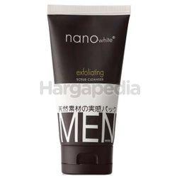 Nano White Men Exfoliate Scrub Cleanser 150ml