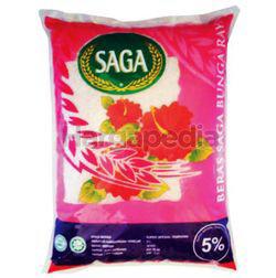 Saga Bunga Raya Tempatan 5% Rice 10kg