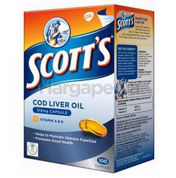 Scott's Cod Liver Oil Capsules 100s