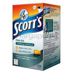 Scott's Fish Oil 1000mg 60s