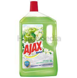 Ajax Fabuloso Floor Cleaner Apple Fresh 3lit